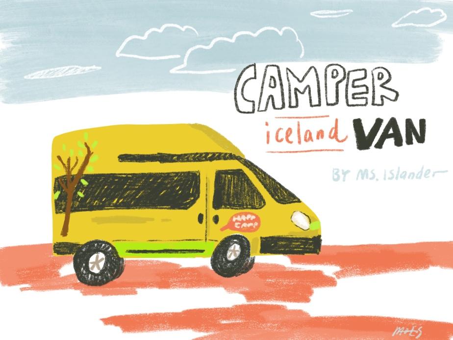 序|冰島之旅 極地露營車體驗